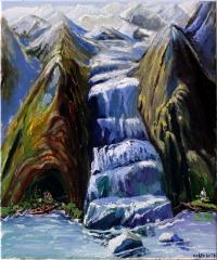 Das Versteck am Gletscher