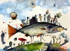 Die Fischwanderer