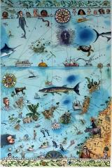 Seekarte Kanaren