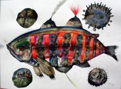Die Welt ist ein Fisch